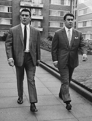 The infamous Kray twins